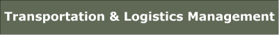 Transportation and Logistics Management